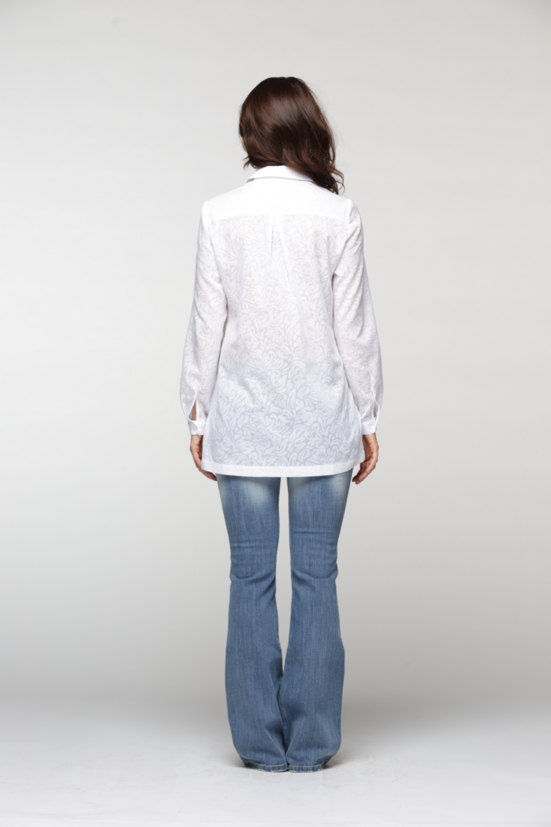 Блузка maria velada белая купить